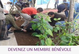 Devenez un membre bénévole